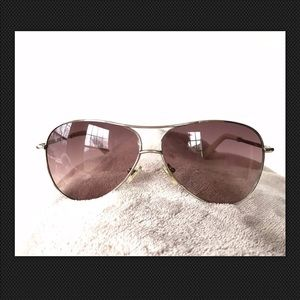 6d5eaa5e39 Cole Haan Accessories - COLE HAAN C 669 AVIATOR Sunglasses POLARIZED IVORY